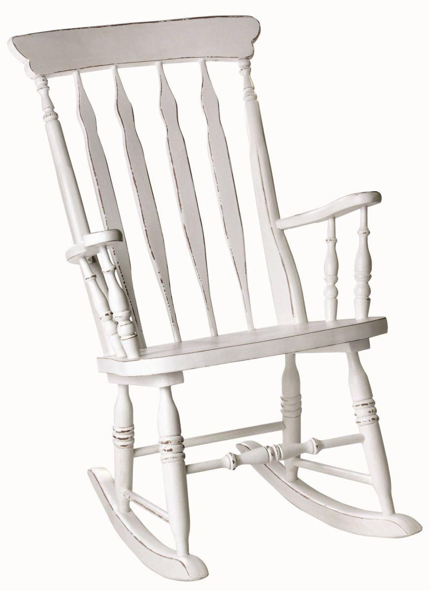 Fotel bujany drewniany d583 meble fotele krzes a hokery - Chaise a bascule pas cher ...