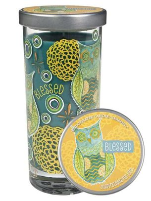 Świeca zapachowa wysoka Inspirations for Life Blessed Tall Jar Candle  Bridewater Candle