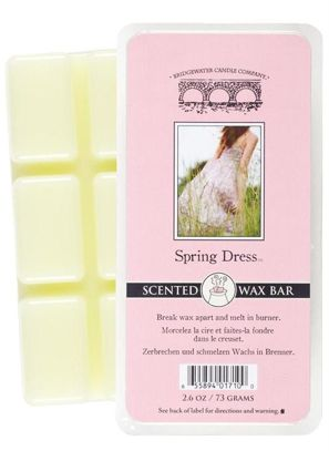 Wosk zapachowy Scented  Wax Bar Spring Dress Bridgewater Candle