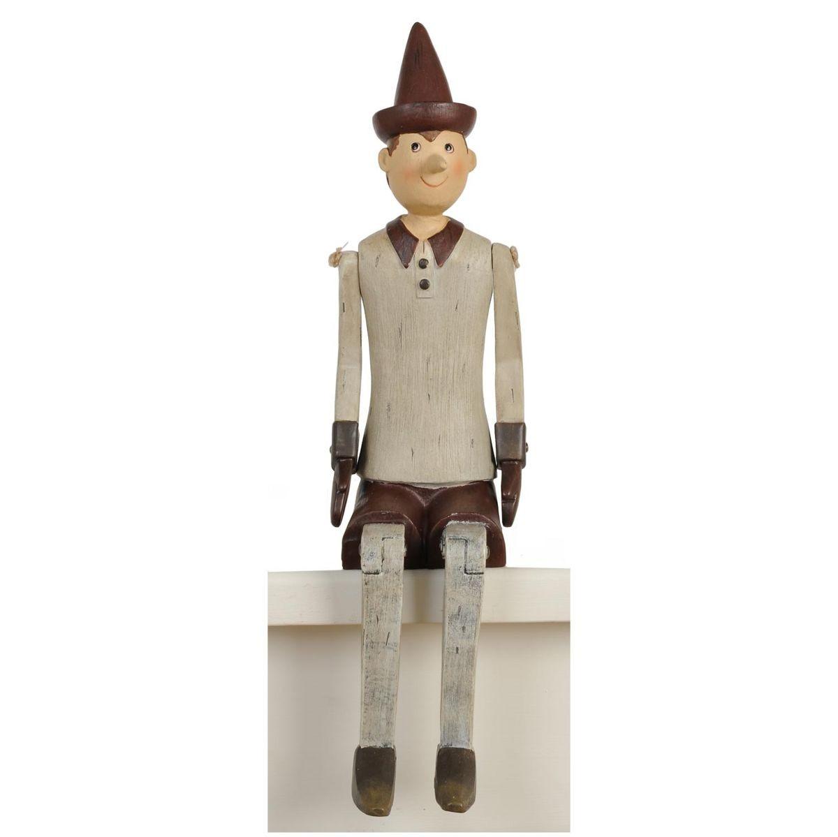 Figurka Pinokio Siedziący 6pr0050 Clayre Amp Eef Dekoracje