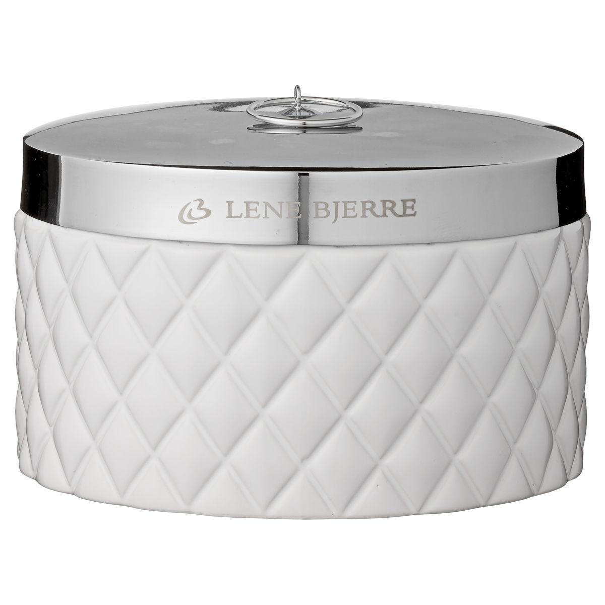 Pojemnik łazienkowy Biały Portia Lene Bjerre