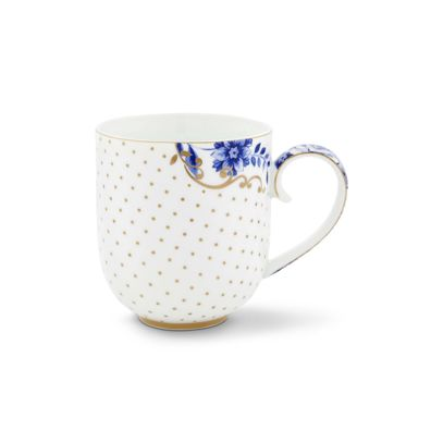 Kubek duży Dots Royal White 51.002.178  Pip Studio