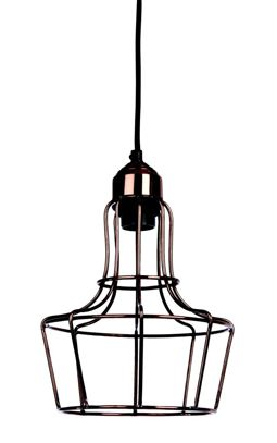 Lampa wisząca METAL'O - metal - Shiny copper - E27 Item: 28872-COP Pomax home