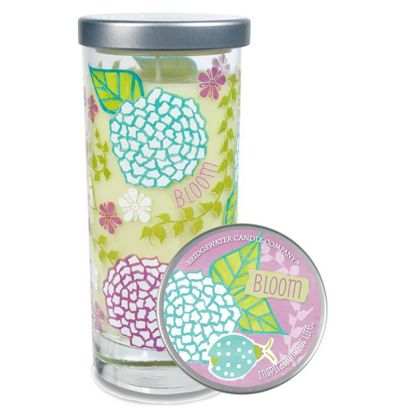 Świeca zapachowa wysoka Inspirations for Life Bloom Tall Jar Candle  Bridewater Candle