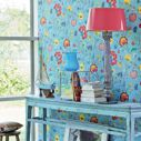 Tapeta Floral Fantasy Light Blue Eijffinger 341035 PIP Studio