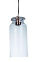 Lampa wisząca ICE - hanging lamp in glass - shiny copper - E27 Item: 28871-COP-10 Pomax home